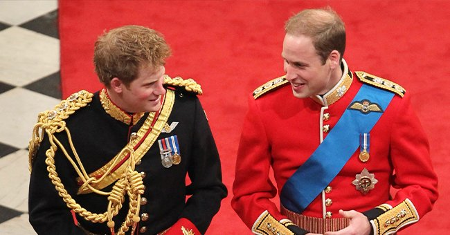 People: Prince William Joked about Prince Harry Playing the Harp at His Wedding 10 Years Ago