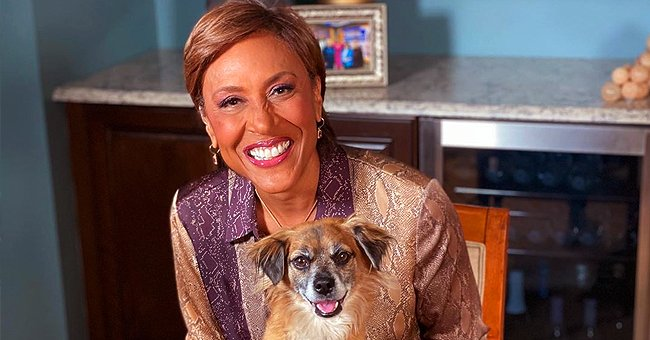 Robin Roberts Poses with Her Adopted Dog Lil Man Lukas That Has Its Instagram Own Page