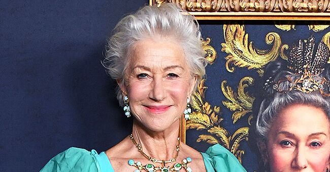 Helen Mirren of 'Prime Suspect' Stuns in Fitted Long Gown with a Regal Cape