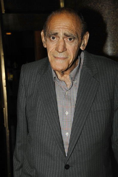 "Abe Vigoda attends the ""Late Night with Conan O'Brien"" taping at the NBC Studios August 7, 2007, in New York City. 