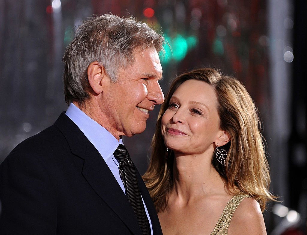 """Harrison Ford and Calista Flockhart, actress arrives at the premiere of CBS Films' """"Extraordinary Measures"""" held at the Grauman's Chinese Theatre on January 19, 2010 