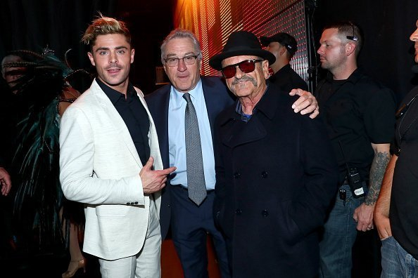 Zac Efron, Robert De Niro and Joe Pesci at Sony Pictures Studios on June 4, 2016 in Culver City, California. | Photo: Getty Images