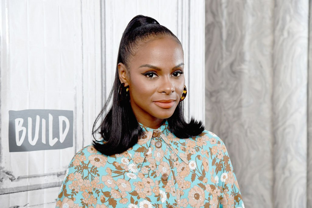 "Actress Tika Sumpter visits the Build Series to discuss the ABC sitcom ""mixed.ish"" at Build Studio 
