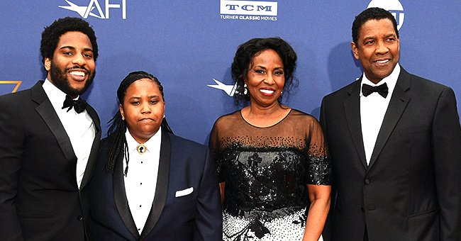 Denzel Washington Praises His Wife & Kids for Their Talent & Involvement in the Arts