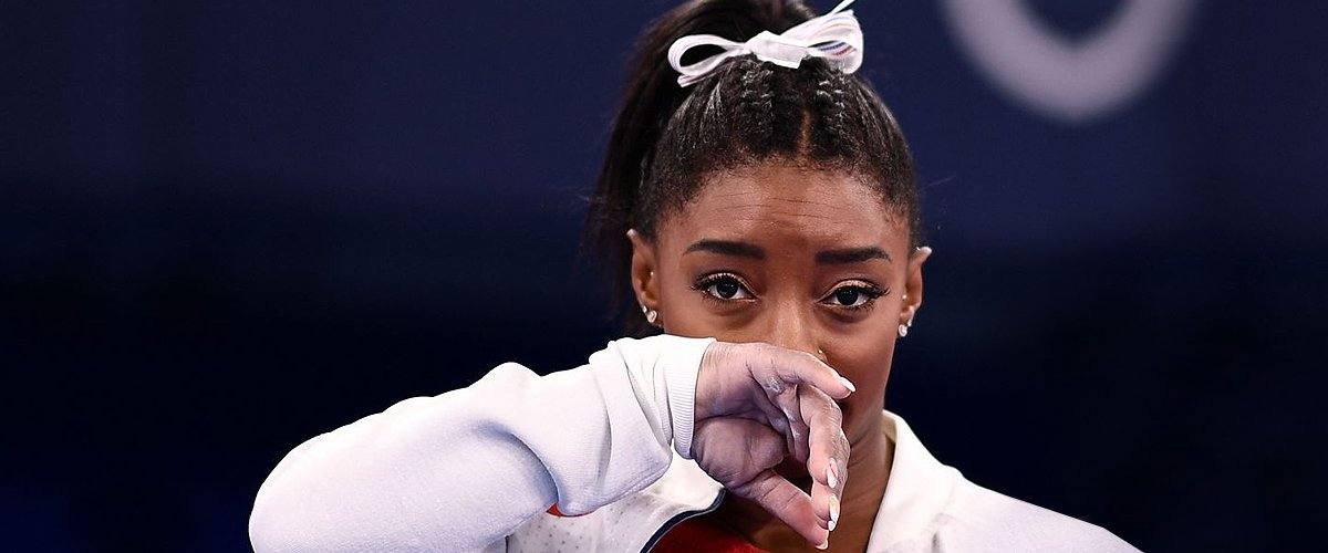 Fans React after Simone Biles Pulled out of Team Finals on the Verge of Tears 'Due to Medical Issue'