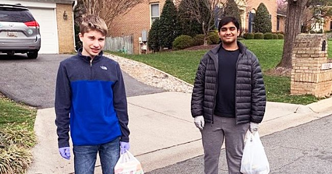 Maryland Teens Start Delivery Service for Elderly to Help Them Get Food Without Social Contact