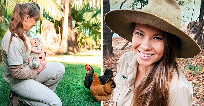 Bindi Irwin's Daughter Grace Meets Some of the Animals at Australian Zoo for the First Time