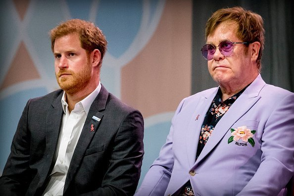 Sir Elton John and Prince Harry, Duke of Sussex attend the 2018 International AIDS Conference | Photo: Getty Images