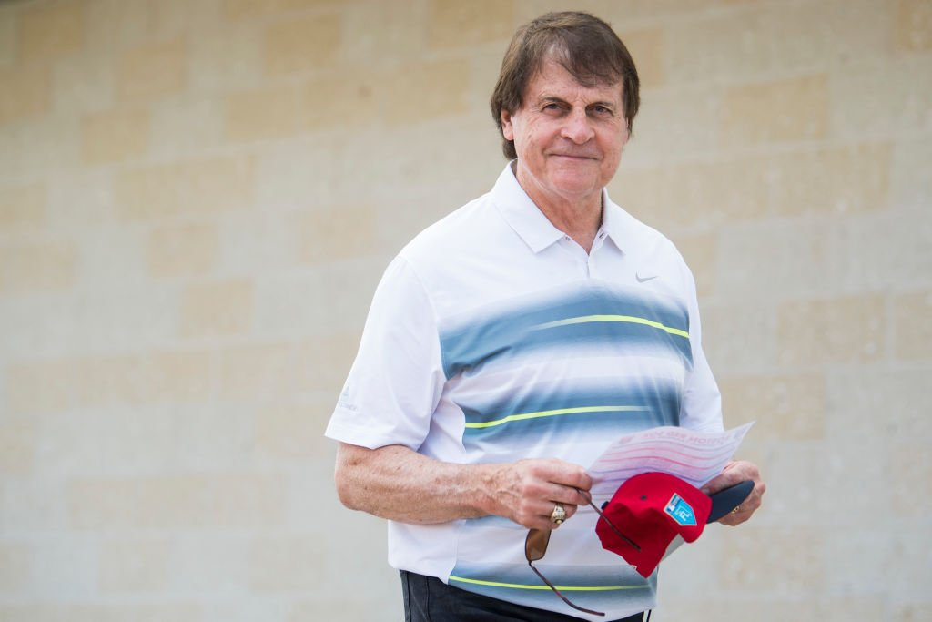Tony La Russa of the Boston Red Sox on February 14, 2018 at Fenway South in Fort Myers   Photo: Getty Images