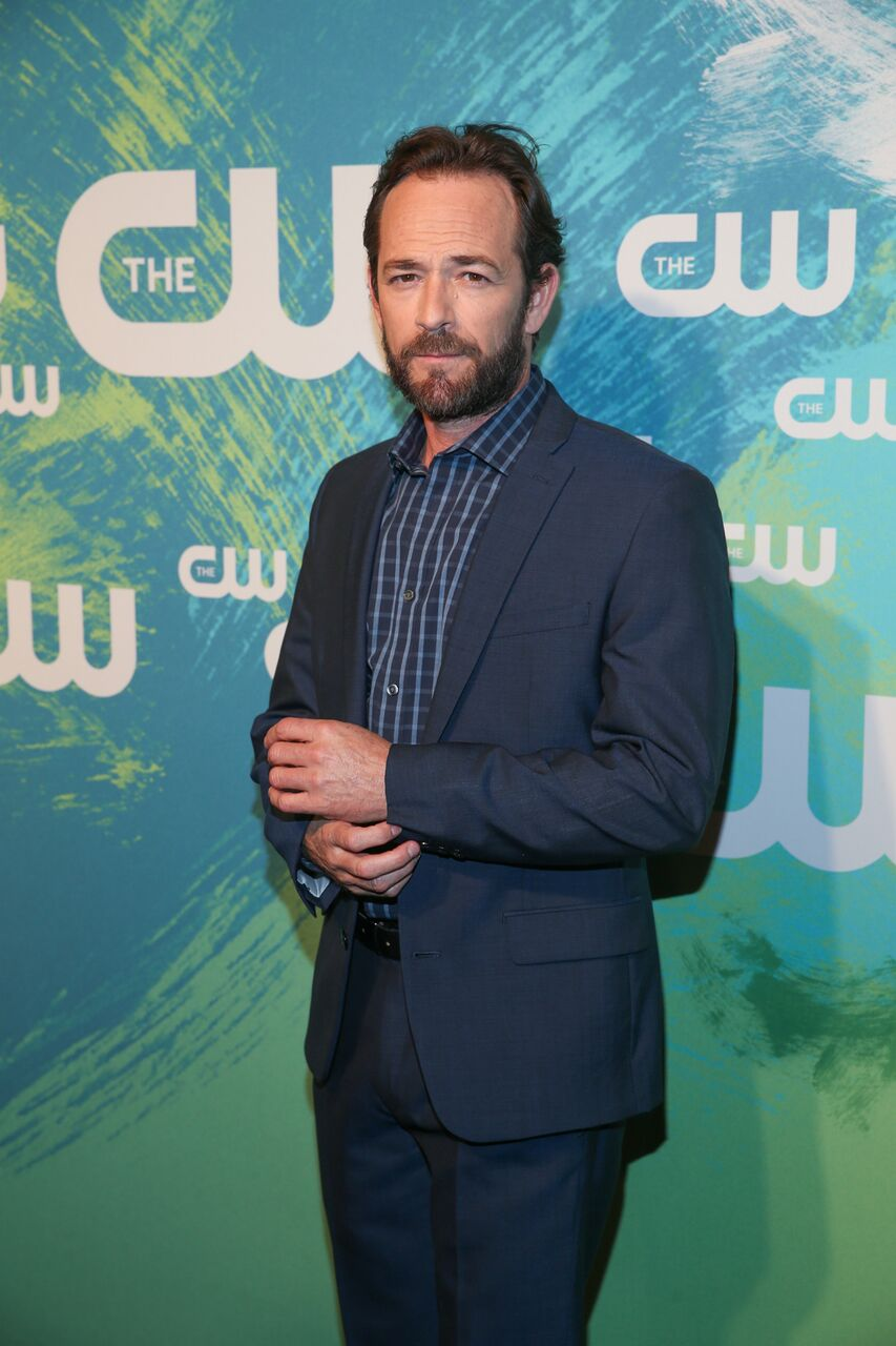 Luke Perry at the CW event. | Source: Getty Images