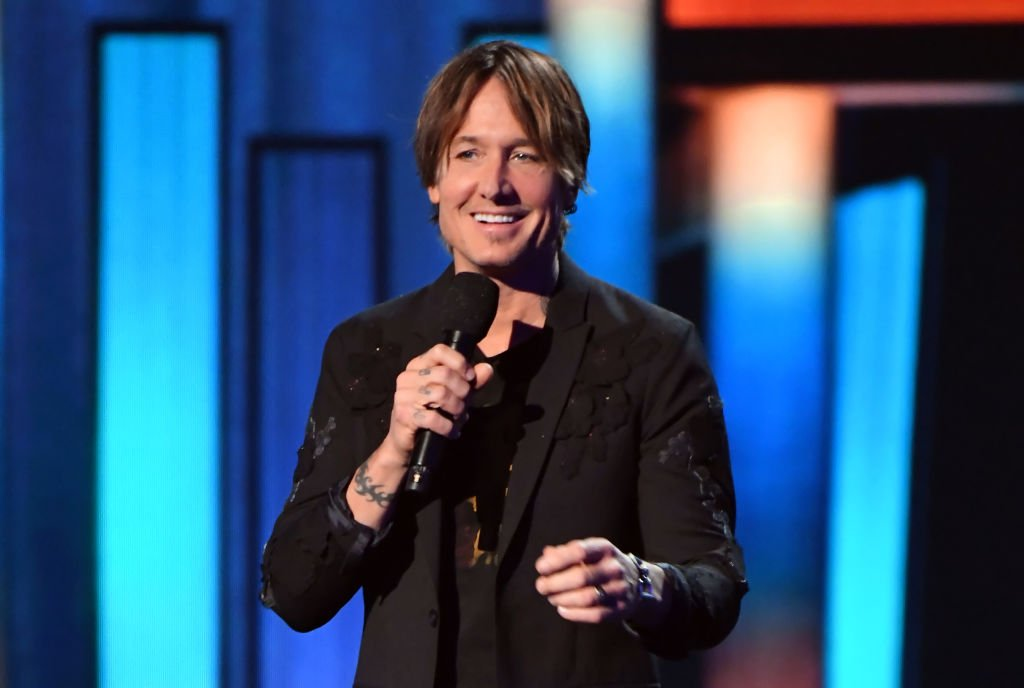 Keith Urban speaks onstage during the 55th Academy of Country Music Awards at the Grand Ole Opry on September 16, 2020. | Photo: Getty Images