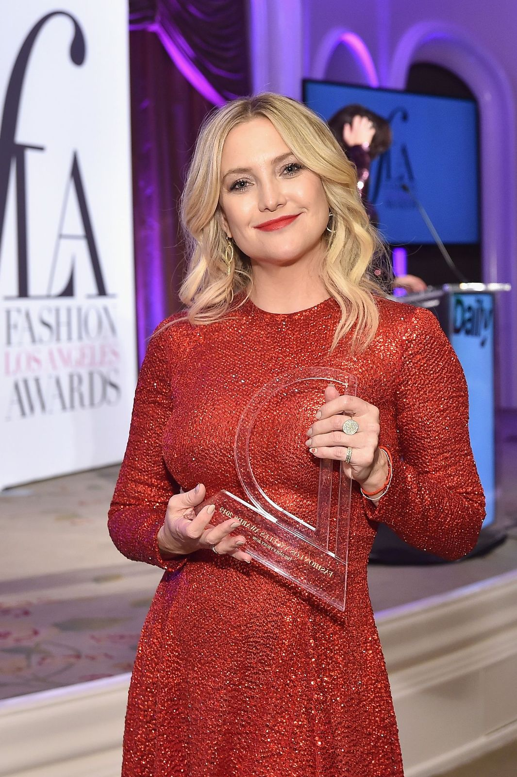 Kate Hudson at The Daily Front Row Fashion Los Angeles Awards on March 17, 2019, in California | Photo: Stefanie Keenan/Getty Images