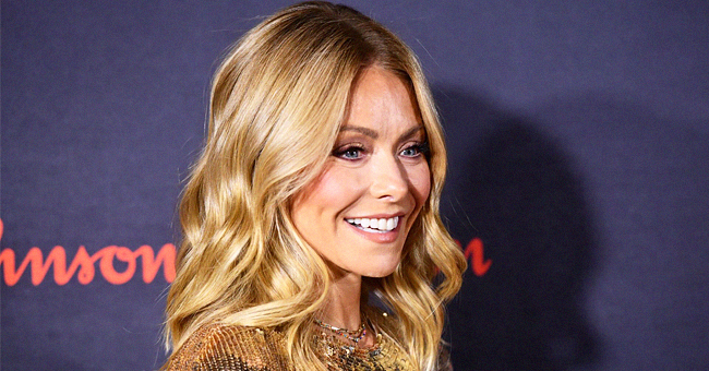 'Live' Co-Host Kelly Ripa Gets Dressing Room Full of Balloons and a Bread-Shaped Cake for Her 49th Birthday