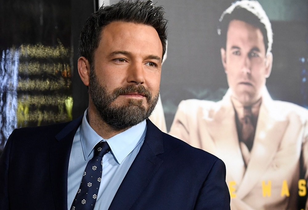 """Ben Affleck attending the premiere of """"Live By Night"""" in Hollywood, California, in January 2017. 