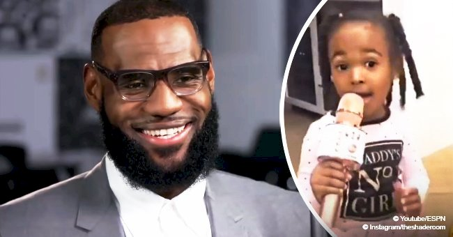 LeBron James' daughter Zhuri captures hearts with her singing in adorable video