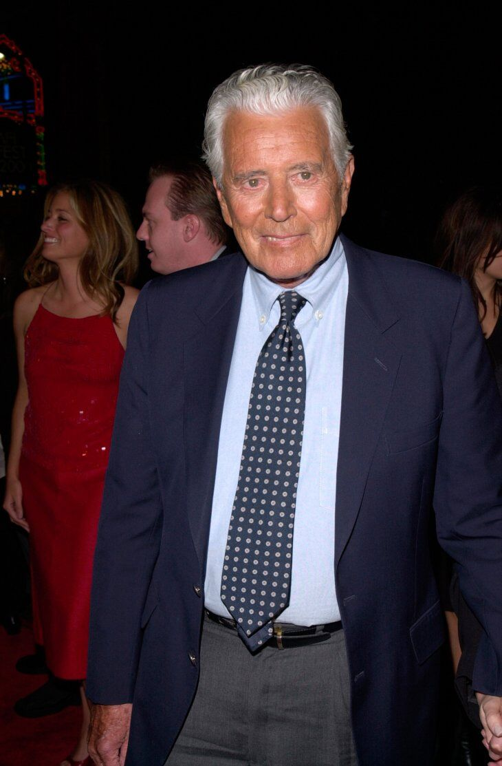 """John Forsyth at the world premiere of his new movie """"Charlie's Angels"""" 