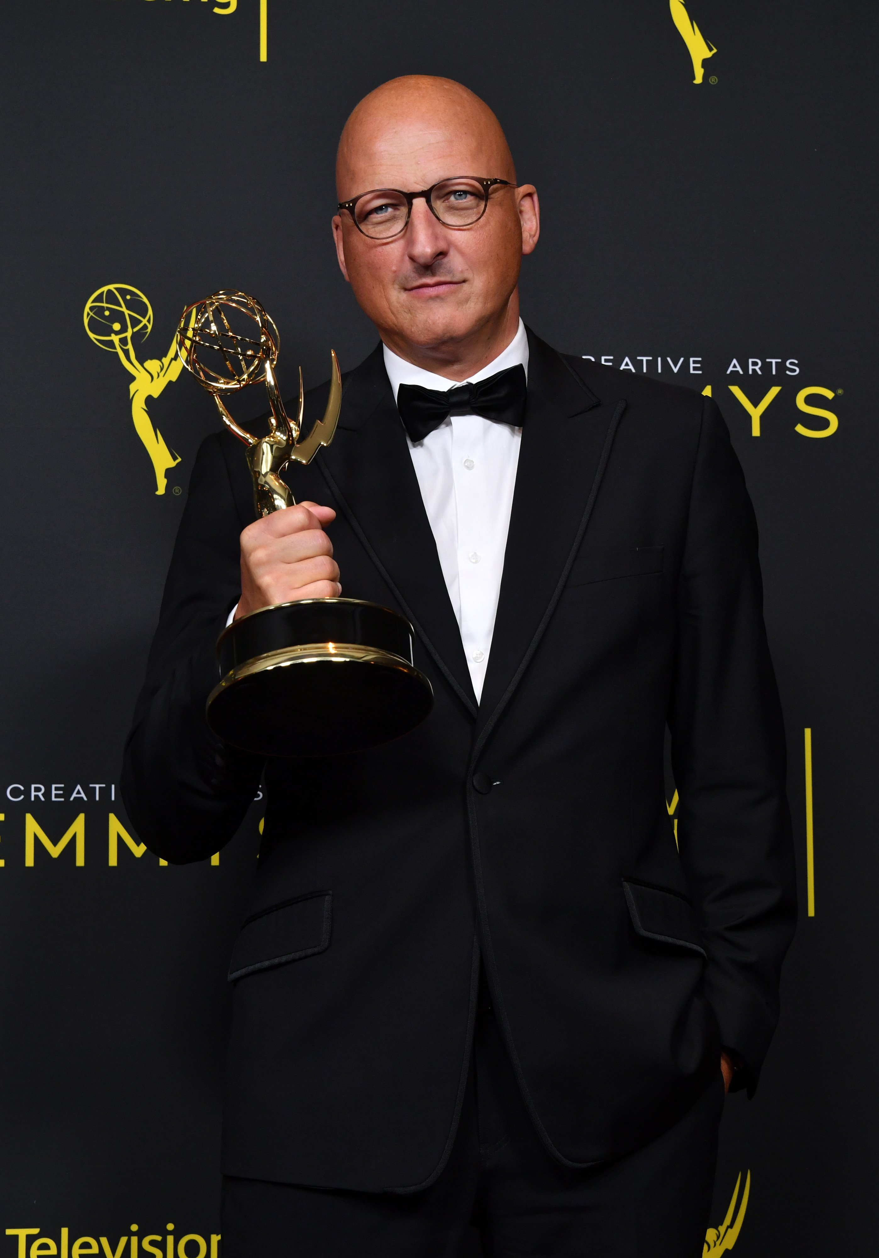 Dan Reed at the Creative Arts Emmy Awards on Sept. 14, 2019 in California | Photo: Getty Images