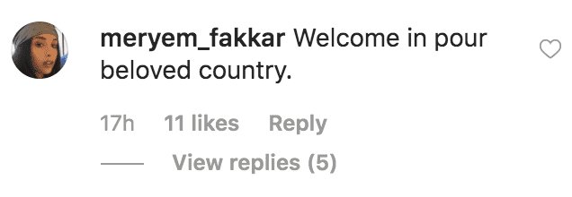 As she poses with Princess Lalla Meryem, a commenter welcomes Ivanka Trump to Morocco | Source: Instagram.com/ivankatrump
