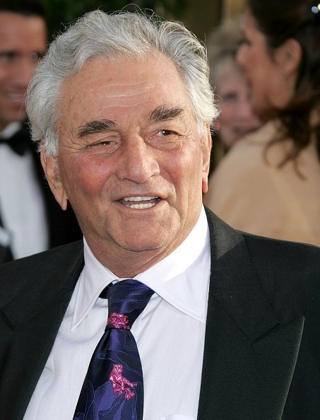 Peter Falk on January 16, 2006, in Beverly Hills, California. | Source: Getty Images.