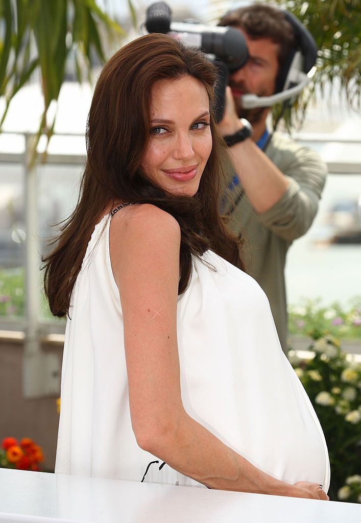 """Angelina Jolie at the """"Kung Fu Panda"""" photo call in Cannes, 2008 