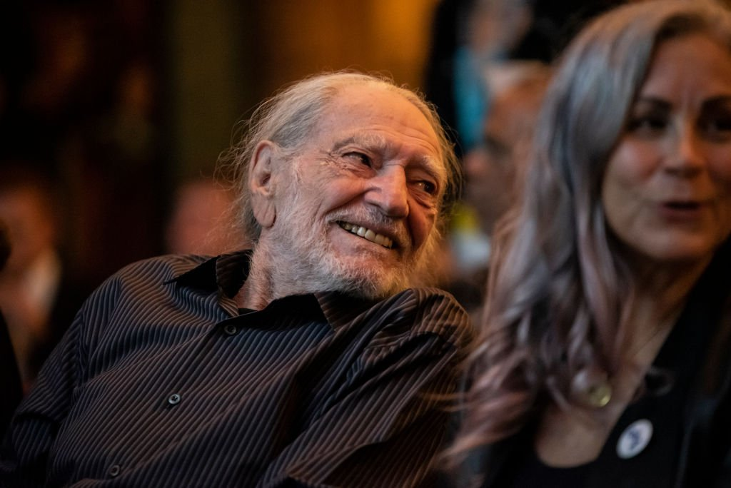 Willie Nelson attends a Q&A following the Luck Cinema screening of 'Red Headed Stranger' at Luck Ranch on July 06, 2019 in Spicewood, Texas. Image Credit: Getty Images