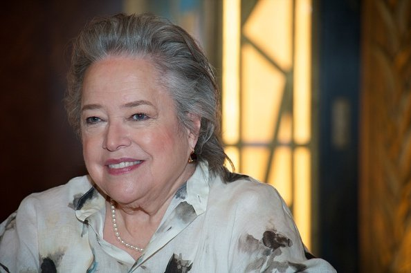 Kathy Bates at the 'American Horror Story: Hotel' Press Conference at Fox Studio | Photo: Getty Images