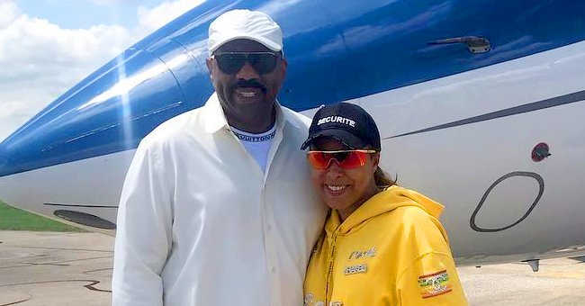 Steve Harvey's Wife Marjorie Reveals She Just Got Vaccinated & Posts Video from Her Appointment