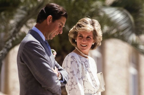 La princesse Diana et le prince Charles en parfaite harmonie. | Photo : Getty Images