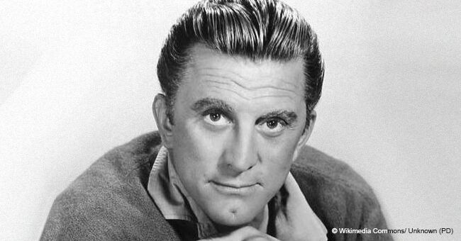 Kirk Douglas Was Photographed Resting in a Tent and He Looks Great at 102