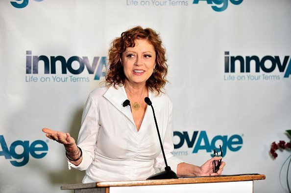 Actress Susan Sarandon attends the launch of 'Aging In Place' Educational Campaign at InnovAge Greater California PACE in San Bernardino | Photo: Getty Images