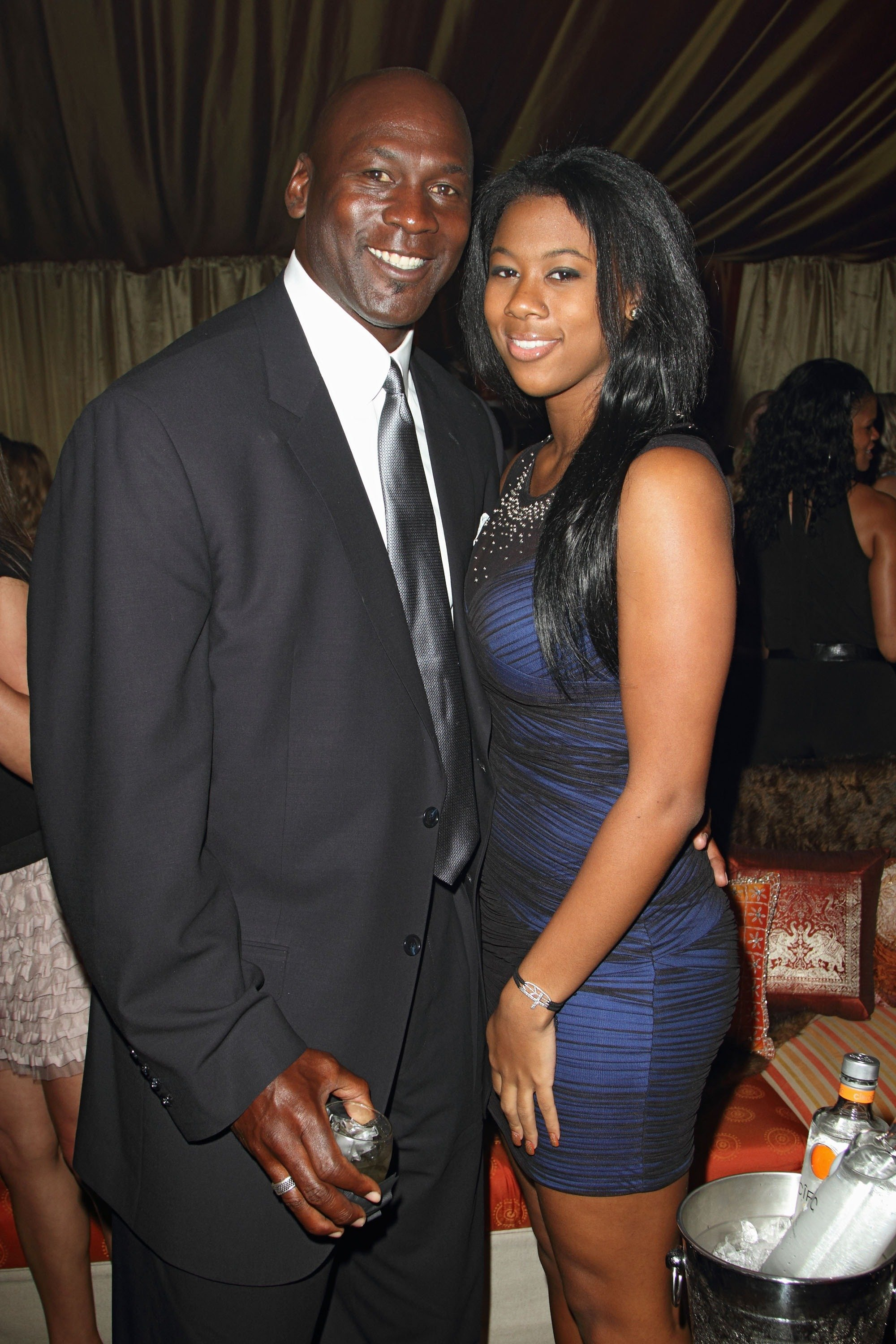 Michael Jordan and Jasmine Jordan at Jordan All-Star With Fabolous 23 on Feb. 25, 2012 in Florida | Photo: Getty Images