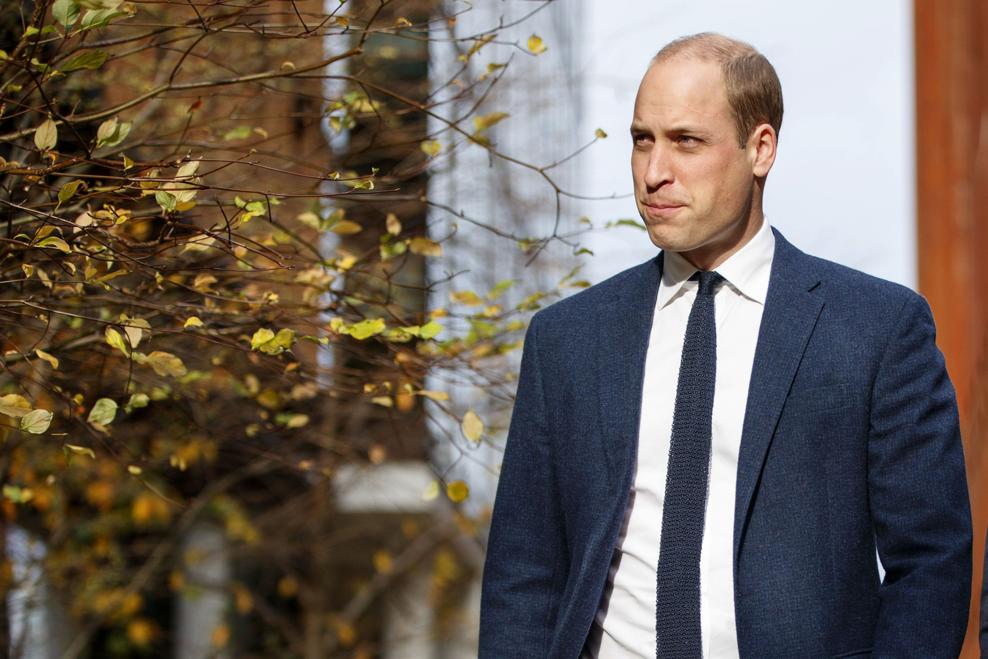 Prince William, Duke of Cambridge at Google & YouTube to launch a National Action Plan to tackle cyberbullying on November 16, 2017   Photo: Getty Images