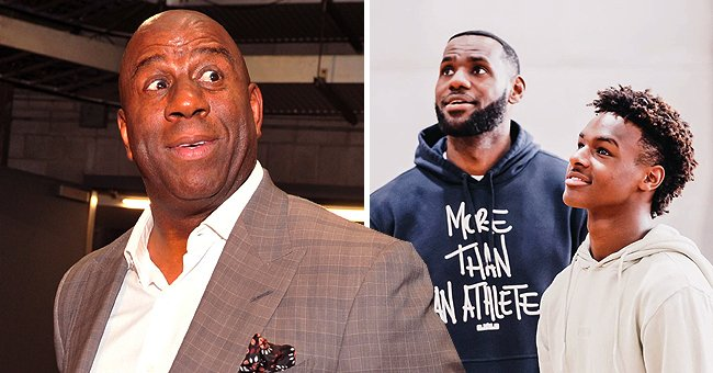 Magic Johnson Believes LeBron James' Son Bronny Could Be Better Than His Dad at Basketball