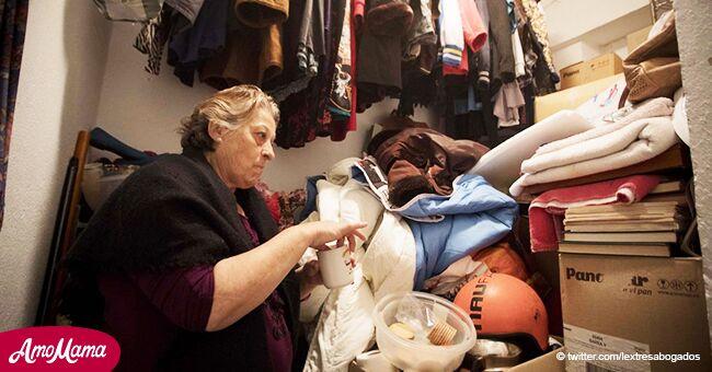Mujer de 66 vive con su hijo discapacitado de 33 años en trastero de 5 metros cuadrados