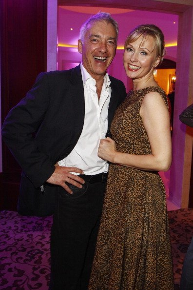 "Dana Golombek und Christoph M. Ohrt, ""Tele 5 Director's Cut"", 2012, Berlin | Quelle: Getty Images"