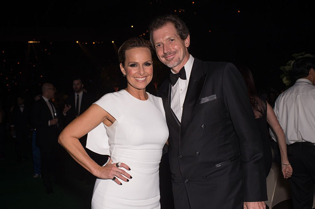 Melora Hardin and Gildart Jackson at the Creative Arts Ball on September 10, 2016 in Los Angeles, California   Photo: Getty Images