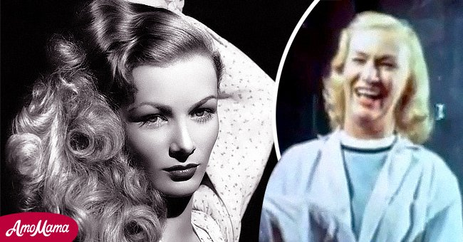 """Veronica Lake at the peak of her career and in the trailer if 1970's """"Flesh Feast"""" 