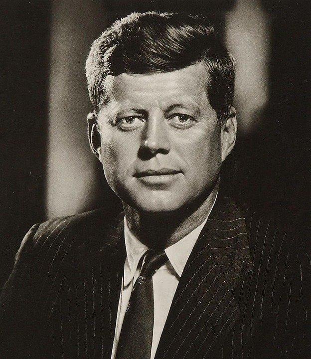 Jonh F. Kennedy posando / Imagen tomada de: Pixabay
