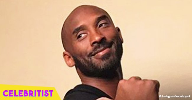 Kobe Bryant is all smiles in beautiful picture with wife and 3 daughters