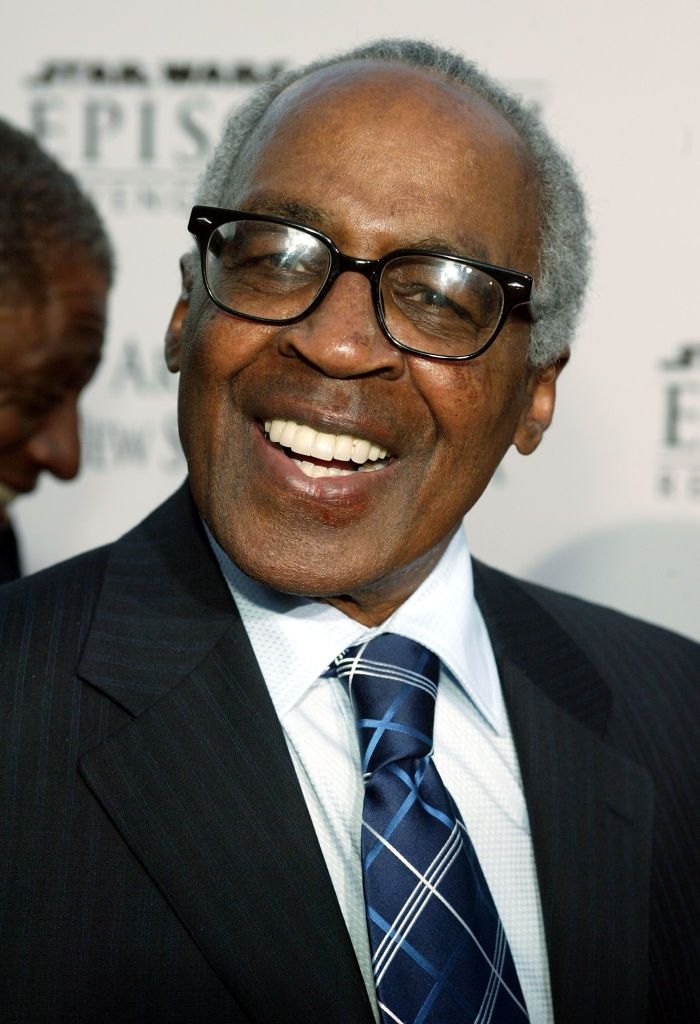 "Robert Guillaume arrives at the ""Star Wars Episode III - Revenge Of The Sith"" Los Angeles Premiere at the Mann Village Theatre on May 12, 2005 in Westwood, California. 