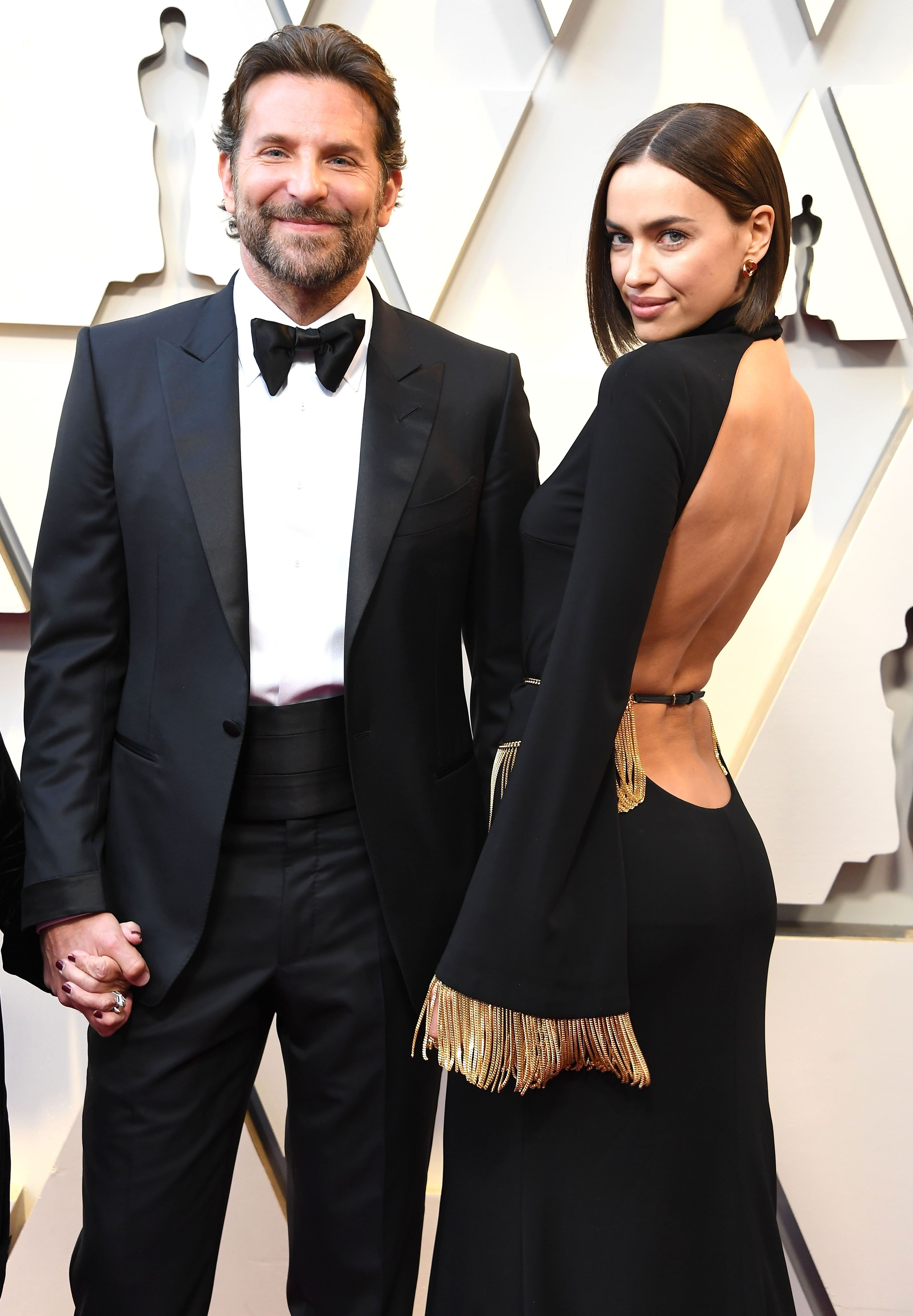Bradley Cooper and Irina Shayk at the 91st Annual Academy Awards at Hollywood and Highland on February 24, 2019 in Hollywood, California.   Source: Getty Images