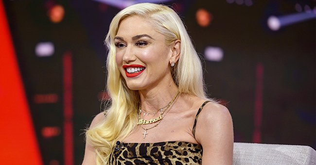 Gwen Stefani Hilariously Photoshopped Blake Shelton onto Old Pic with Her Ex — See Fan Reactions