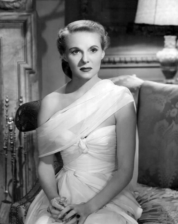 """Ann E. Todd poses in film """"The Paradise Case"""" in 1947 