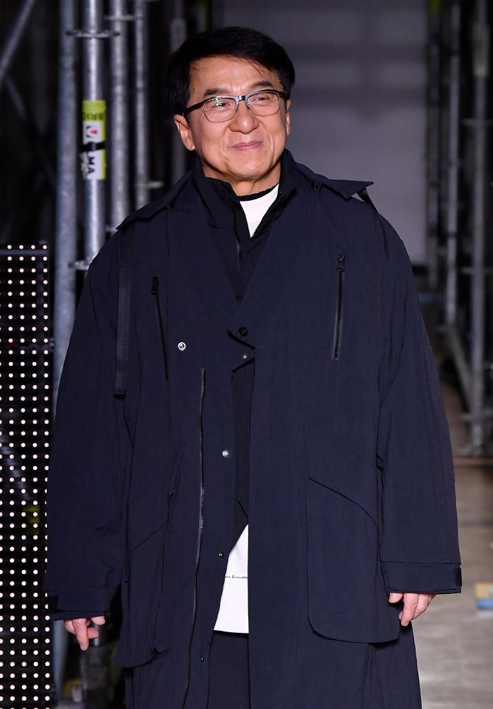 Jackie Chan walks the runway during the Li-Ning Menswear Fall/Winter 2020-2021 show as part of Paris Fashion Week on January 18, 2020 | Photo: Getty Images