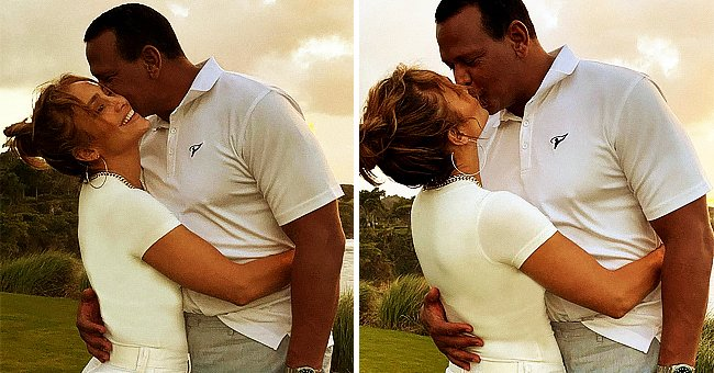 J Lo Cuddles Fiancé A-Rod as They Reunite in the Dominican Republic after Spending Time Apart
