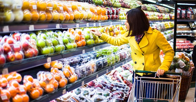 Daily Joke: A Middle-Aged Married Couple Goes Shopping in a Grocery Store