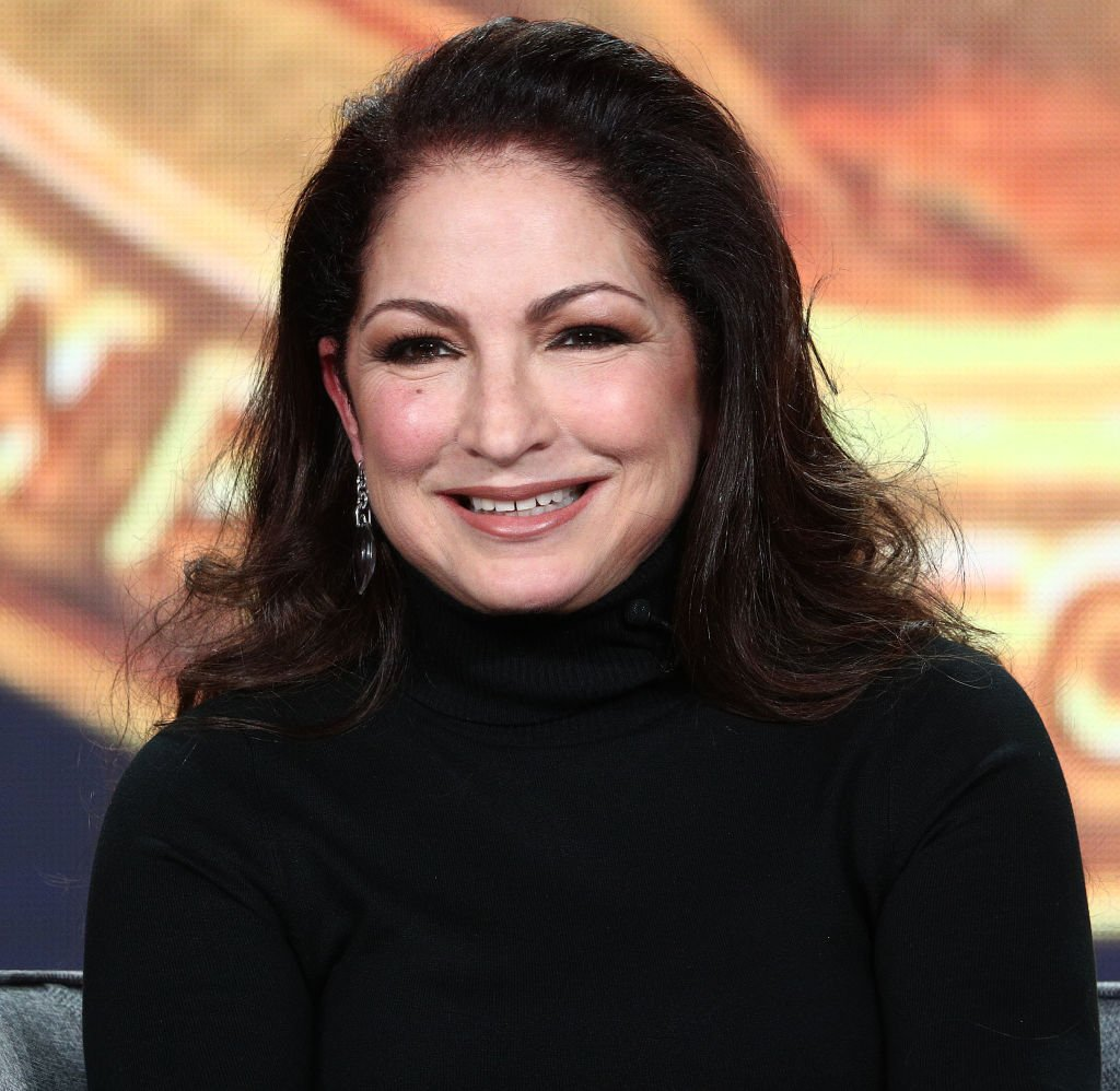 Gloria Estefan speaks during the PBS segment of the 2019 Winter Television Critics Association Press Tour on February 01, 2019 in Pasadena, California. | Source: Getty Images