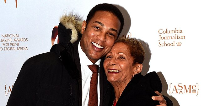 CNN's Don Lemon Shows Love to Mom Katherine as They Hug in a Sweet Mother-And-Son Photo