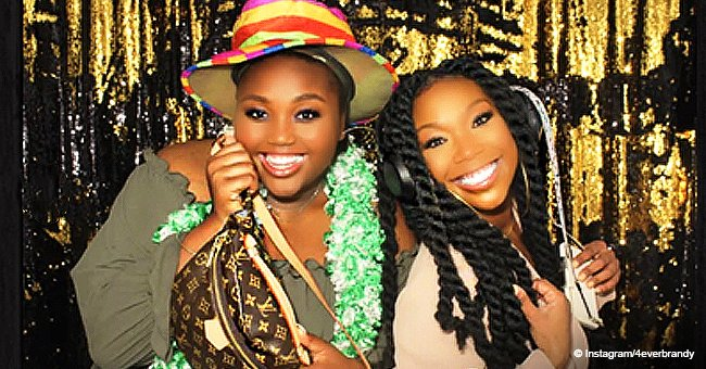 Brandy's teen daughter shares adorable photos with mom on her birthday, showing their resemblance