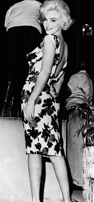 """Marilyn Monroe on the set of """"Something's Got To Give"""" in 1962 